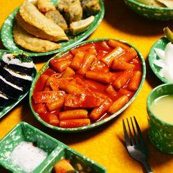 [싹쓸특가] 추억의 떡볶이 접시 레트로 옛날 그릇 14종
