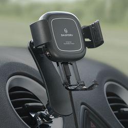 FOD 오그랩발 차량용 오토 무선고속충전 핸드폰 거치대