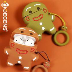 데켄스 에어팟 1세대 2세대 쿠키 캐릭터 실리콘 케이