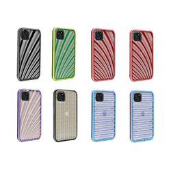 아이폰7 컬러풀 라인 커버 하드 케이스 P425