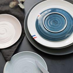 메레신 파스텔인 접시(대) 6color