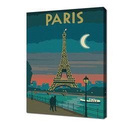 [명화그리기]2030 미니여행-파리 15색 일러스트
