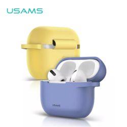 USAMS 유삼스 에어팟프로 컬러 젤리 범퍼케이스+버클