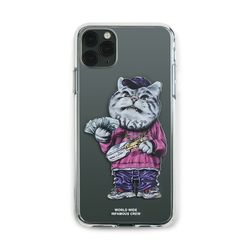 PHONE CASE CATSGANG CLEAR iPHONE 11  11 Pro  11 Pro Max