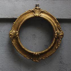 금빛순간엔틱액자틀 [아칸서스모티브] 엔틱길드데코