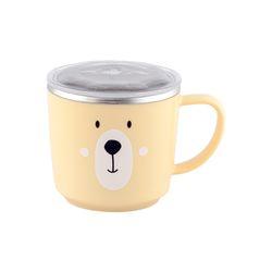 베어 스텐뚜껑 컵