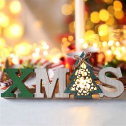 LED 크리스마스 우드스탠딩 (트리)