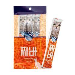 국산-고양이 장건강 가다랑어 유산균간식x6 - d
