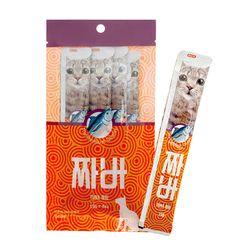 국산-고양이 장건강 짜먹는 참치간식x6 - d