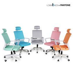 린백+팬톤 LB13PT 편안한 컴퓨터 목받침 의자/체어