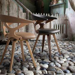G 트윈 체어(회전) 인테리어 카페의자