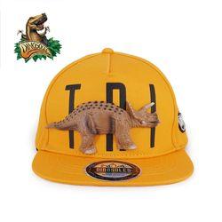 3D 트리케라톱스 공룡모자 스냅백