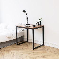 쿠드 800 블랙 철제 책상테이블