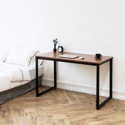 쿠드 1200 블랙 철제 책상테이블