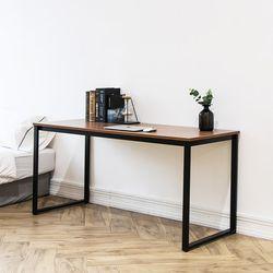 쿠드 1500 블랙 철제 책상테이블
