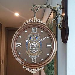 부엉이 펄 양면시계 브론즈 CH1506914