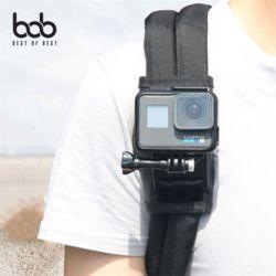 bob 고프로 호환 액션캠 벨크로 백팩홀더 마운트거치