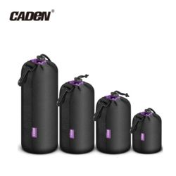 Caden 카덴 페브릭 네오프렌 카메라 렌즈케이스 중형