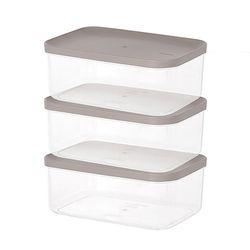 주방 냉장고수납 음식물 식재료 반찬 보관용기5호 3팩