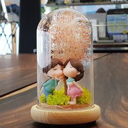 유리돔 동화 무드등 - 기념일선물 여자친구선물 프리저브드