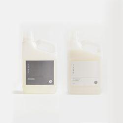 생활도감 세탁세제 & 섬유유연제 set (2개입)