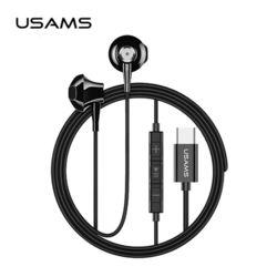 USAMS 유삼스 메탈 반커널형 C타입 이어폰 EP-25
