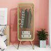 아파트32 홈 골드 철제 옷장 드레스룸 쇼룸 캐비넷  S