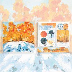 런드리태그 드림키트 - 겨울산