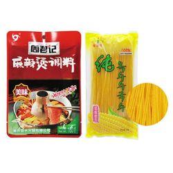 주군기 마라탕+진련화 옥수수면 마라탕세트 중국식품
