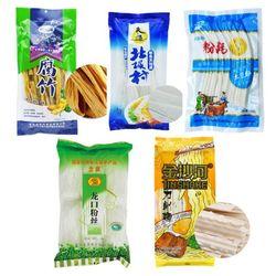푸주+넓적당면+분모자+실당면+도삭면 세트 중국식품