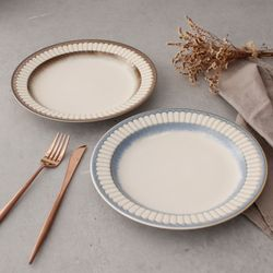 헨느 포트맘 9인치 접시- 2color