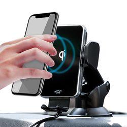 오퍼스원 F1 차량용 고속 무선충전 자동 핸드폰 거치대