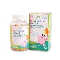 데일리플랜 어린이 칼슘 비타민D 젤리 꾸미 2300mg x 90꾸미