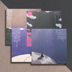 민족 시인 감성 글귀 디자인 떡메모지 메모지 묶음 세트