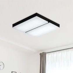 LED 아키 4등 거실등-A(블랙)