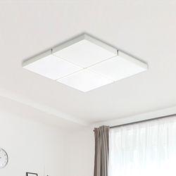 LED 아키 8등 거실등-화이트