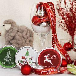 크리스마스 파라핀 캔들 3P 선물 세트