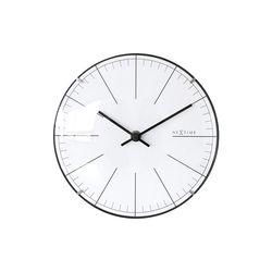 넥스타임 빅 스트라이프 미니돔 시계탁상시계NEX-3506WI