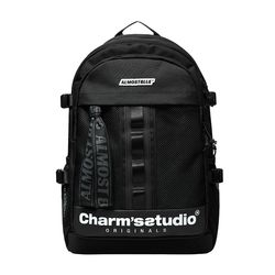 ALMOST BLUE X CHARMS BACKPACK-COOL GRAY