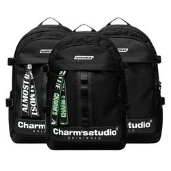 ALMOST BLUE X CHARMS BACKPACK - 3COLORS 신학기 백팩