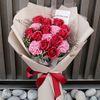 빨강 장미 비누 졸업식 발표회 꽃다발 드라이플라워 프리저브드