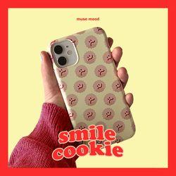 [뮤즈무드] smile cookie 아이폰케이스