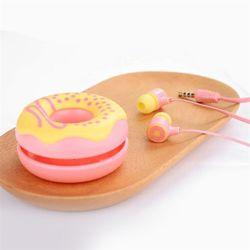 비오비 도넛 커널형 이어폰+케이스