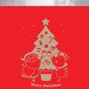 불투명 창문시트 크리스마스 스타일 NTCCW16