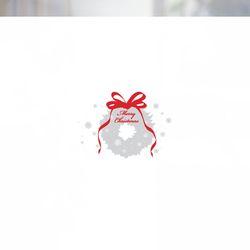 불투명 창문시트 크리스마스 스타일 NTCCW21