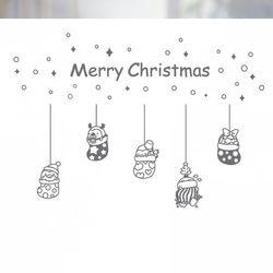 불투명 창문시트 크리스마스 스타일 NTCCW24