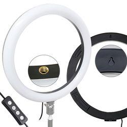 본젠 KL-120 포터블 카메라 스마트폰 LED 링라이트