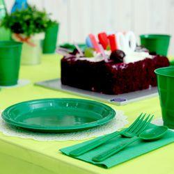 생일파티 테이블세트 라임그린앤그린