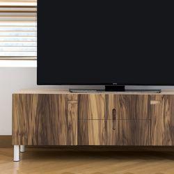 레이어스 TV거실장 (1400/Wood)