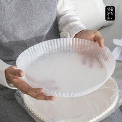 [무료배송] 생활공작소 접시형 종이호일 50매 x 3입(중형)